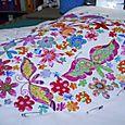 Amanda's Sweet Heart pillow - work in progress shot