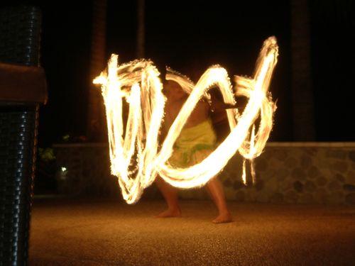 Fire dance - fiji