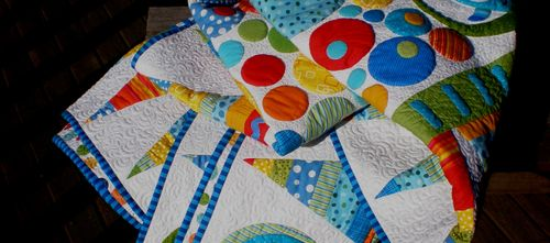 Circles quilt - finished