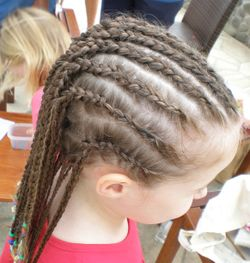 Don T Look Now Sunny Days Heads Full Of Braids Birthdays On The
