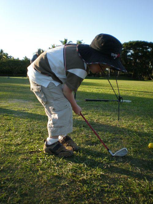 Golf with Josh