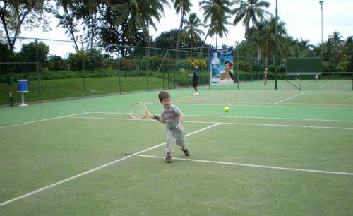 Tennis with Joshua