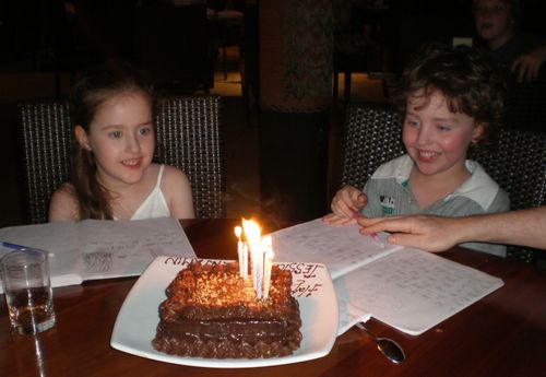 Twins 7th birthday