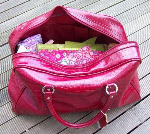 My bag fullb of fabric