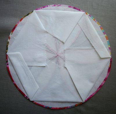 Joseph's Coat folded background fabric