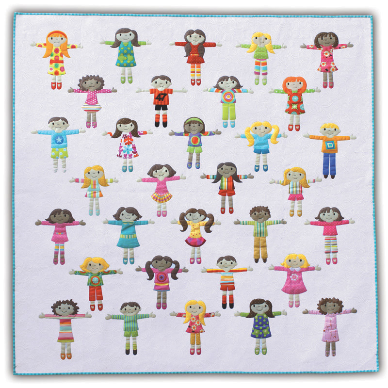 Worry Dolls - full quilt
