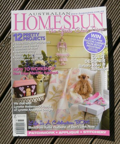 Homespun Cover April 2010