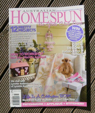 Homespun Cover April 2010
