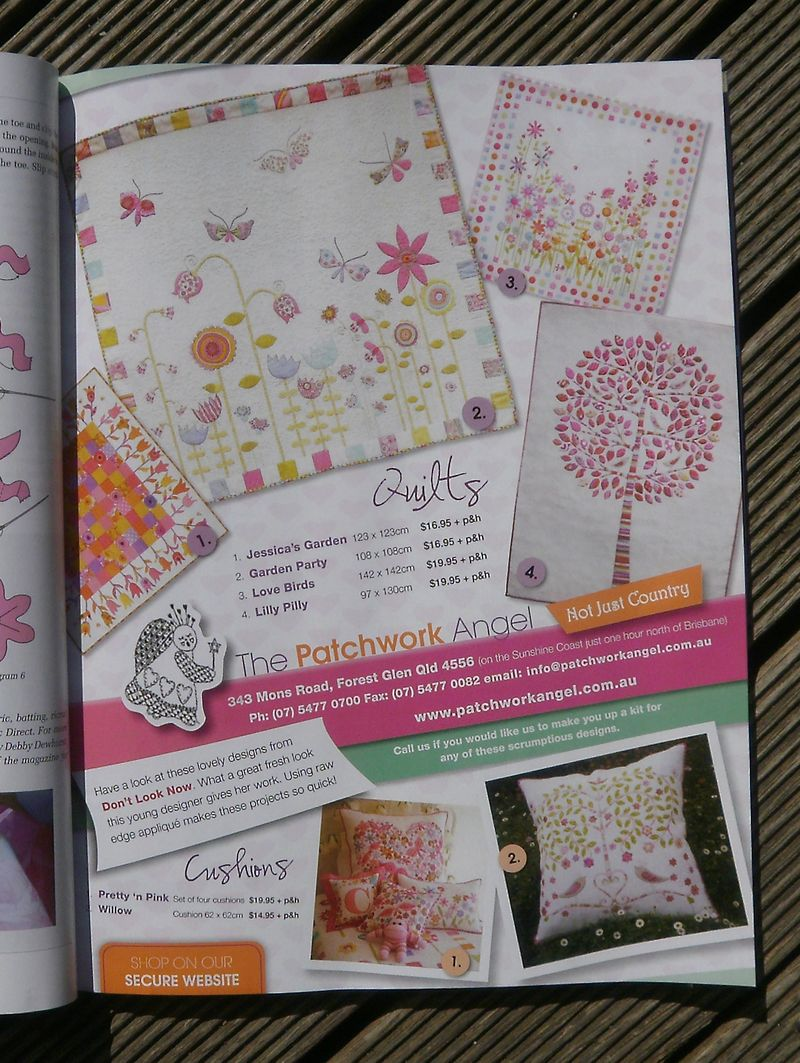 Patchwork Angel Ad