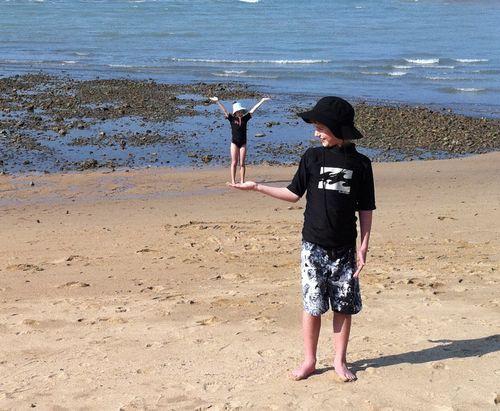 Ben and tiny Jessie