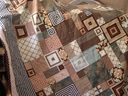 Benjamin's Christmas Quilt 2007